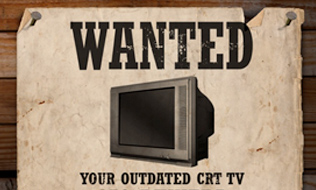 Wanted: Your outdated CRT TV. £50 Reward