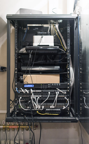 HDMi matrix network switch installation