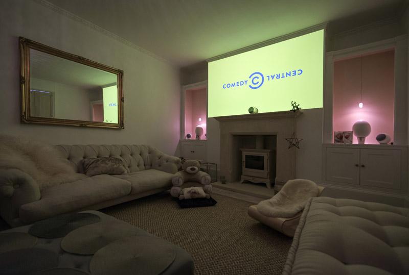 Home cinema installation Camden-Bath-3