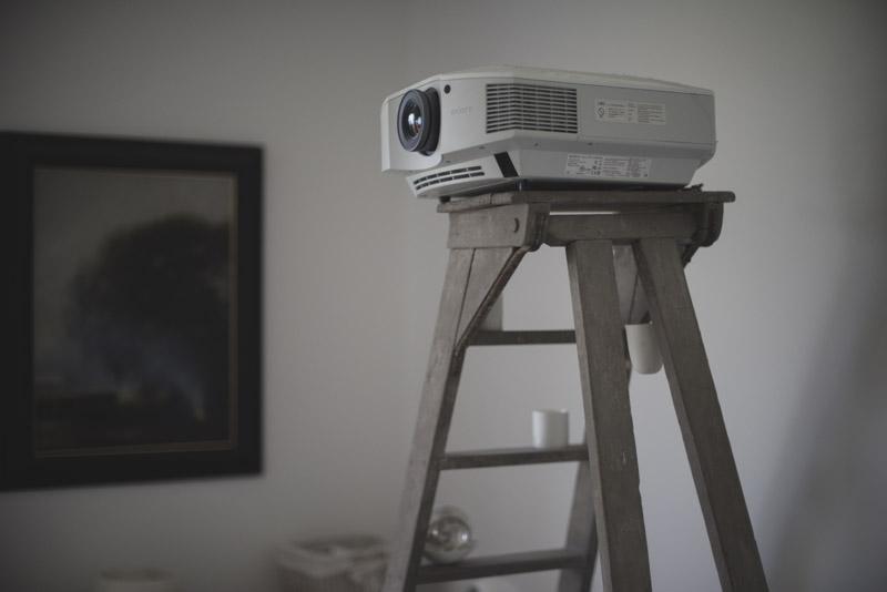 Sony projector installation-Private-house-Camden-Bath