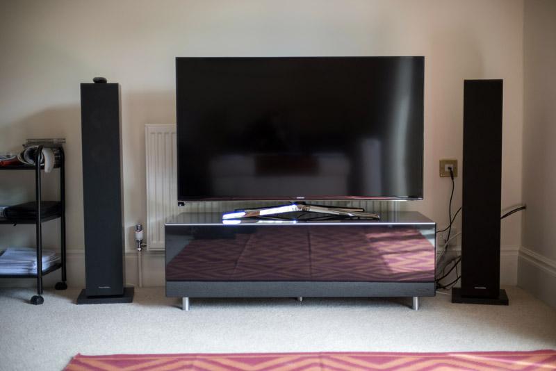 Television Audio Installation Bath 2