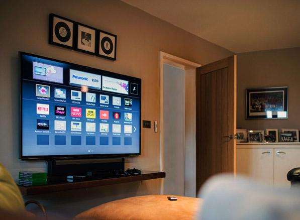 custom installation example smart tv