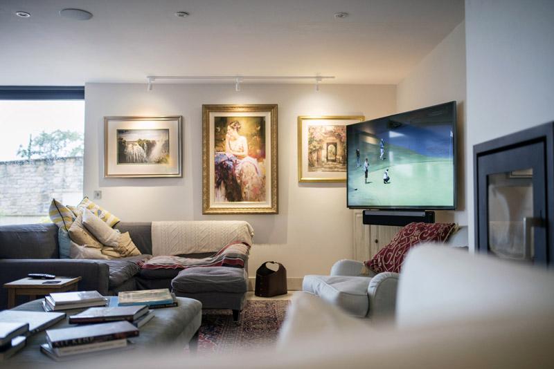 Panasonic 65 Inch Wall Mounted Television Using Future