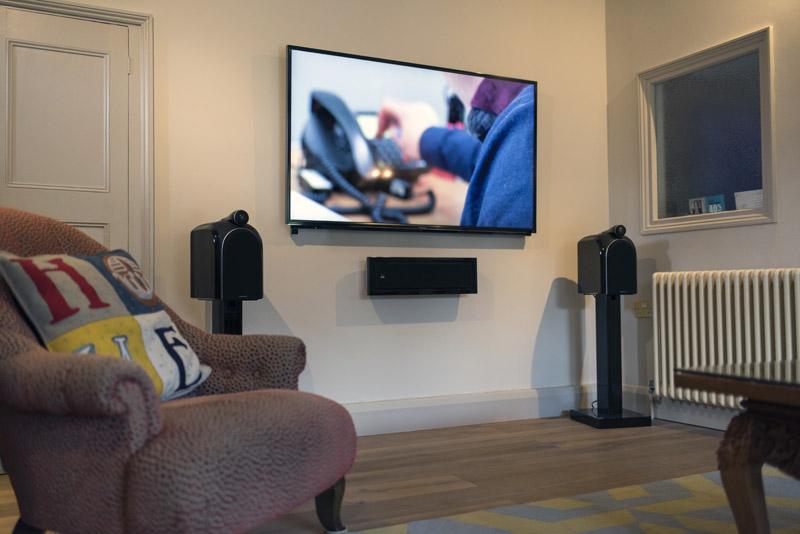 Panasonic 55 inch wall mounted television - Moss of Bath